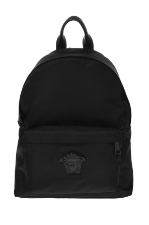Medusa head backpack od Versace