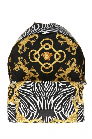 Patterned backpack od Versace