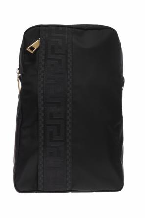 One-shoulder backpack od Versace