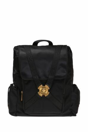 Backpack with quilted inserts od Versace