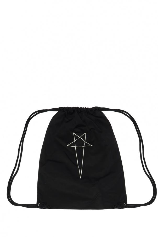 Rick Owens DRKSHDW Logo backpack