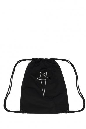 Logo backpack od Rick Owens DRKSHDW