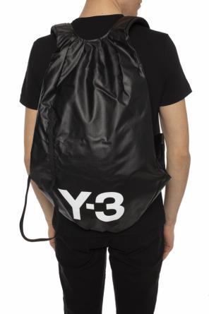 Logo-printed backpack od Y-3 Yohji Yamamoto ... fa4b8e8a34d6f