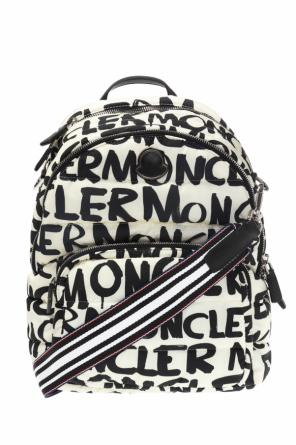 Patterned backpack od Moncler
