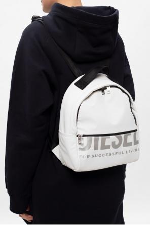 'f-bold back fl ii' logo backpack od Diesel