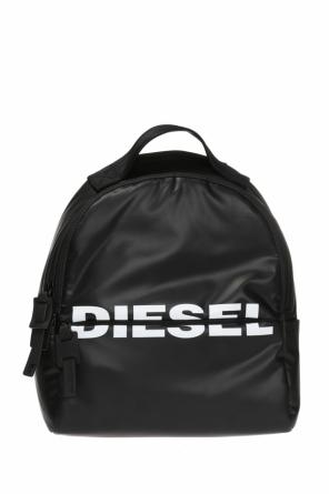 'f-bold back' logo-printed backpack od Diesel