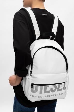 'f-bold back fl iii' logo backpack od Diesel