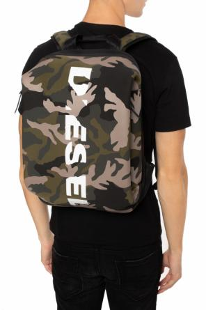 Backpack with a camo motif od Diesel