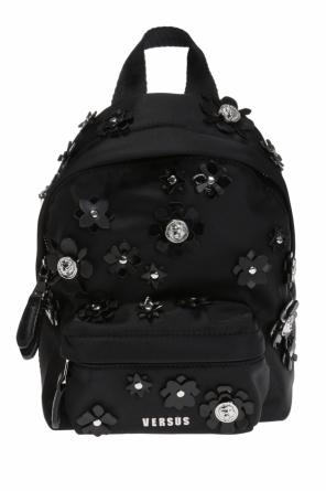 Appliqued backpack od Versace Versus