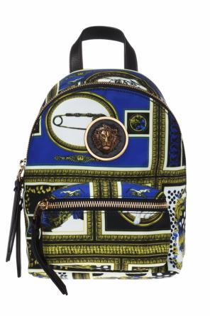 Appliquéd backpack od Versace Versus