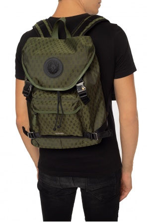 Backpack with a logo od Versace Versus