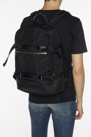 Backpack with rubber logo patch od Versace Versus