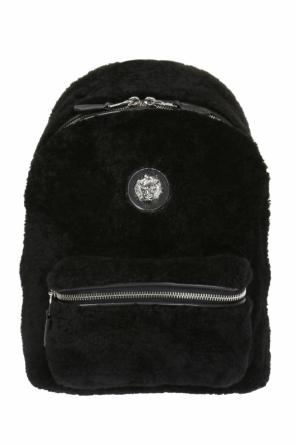 Lion head backpack od Versace Versus