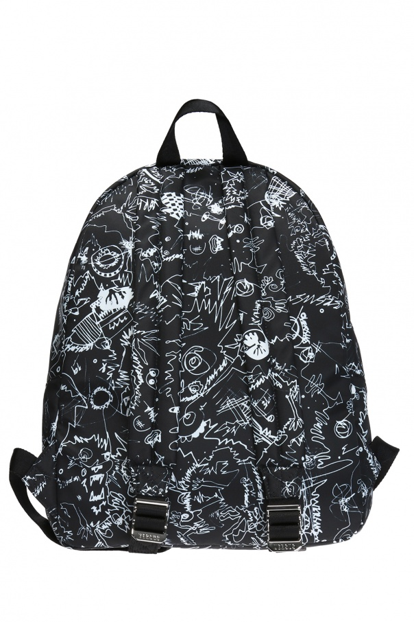 Patterned backpack Versace Versus - Vitkac shop online 61190ab8e7a50