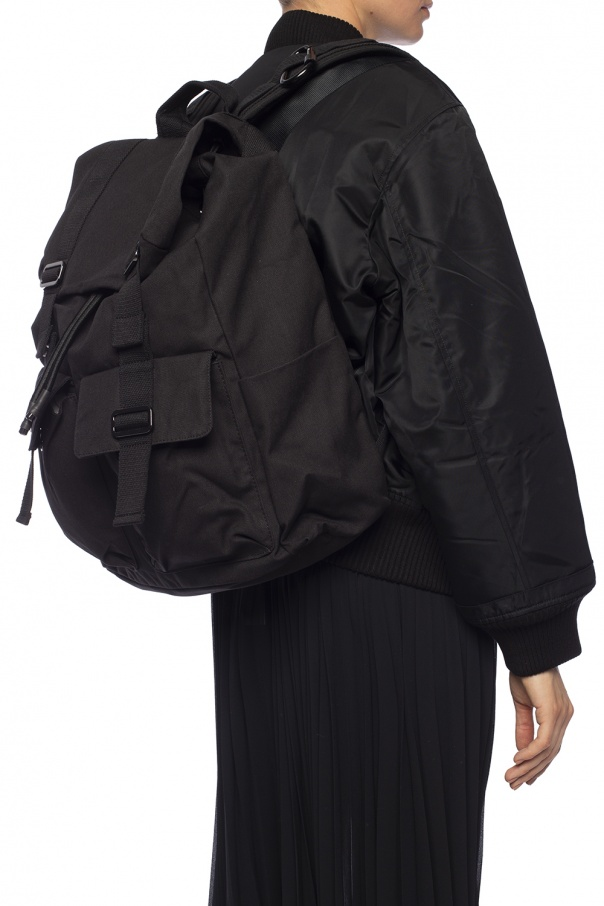 Backpack with stripes od Reebok x Victoria Beckham