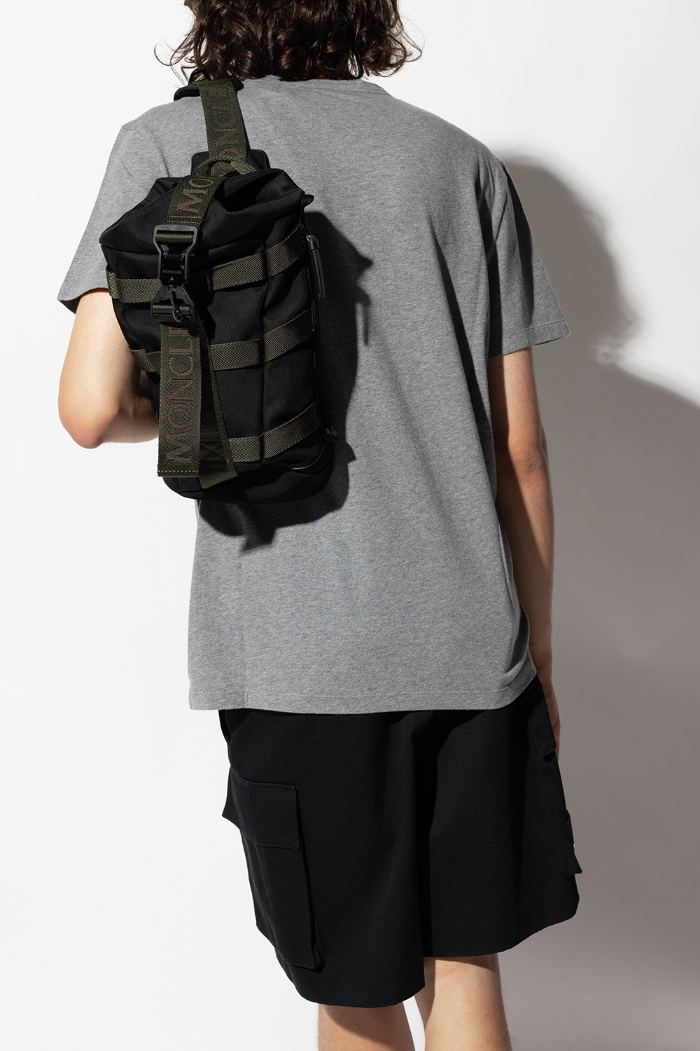 Moncler Backpack with logo