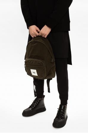 Logo-patched backpack od Y-3 Yohji Yamamoto