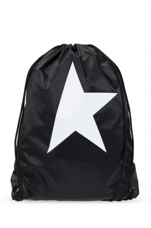 Backpack with logo od Golden Goose