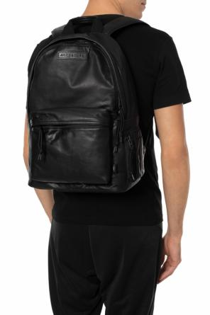 'hayes' logo-patched backpack od AllSaints