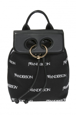 Logo-embroidered backpack od J.W. Anderson