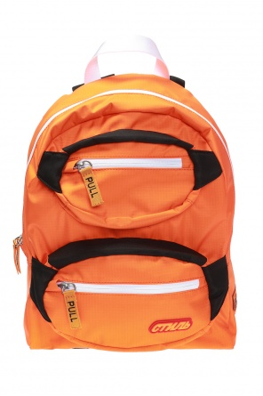 Logo-patched backpack od Heron Preston