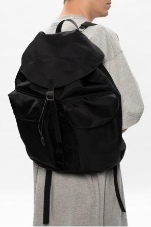 Backpack with logo od JIL SANDER