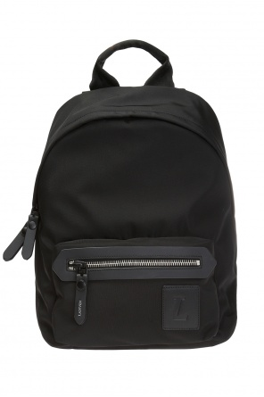 Backpack with an embossed logo od Lanvin