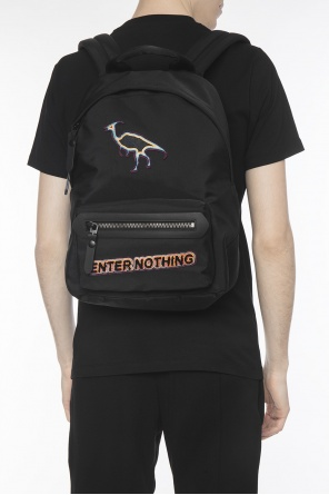 Patched backpack od Lanvin