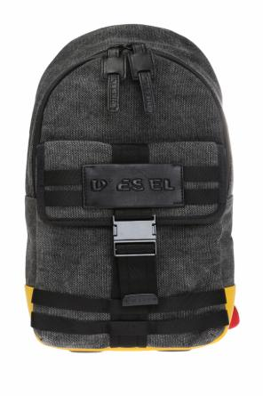 'm-cage mono' one-shoulder backpack od Diesel