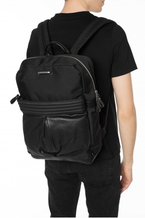 'm-proof' backpack with logo od Diesel