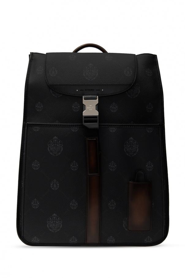 Berluti Logo backpack