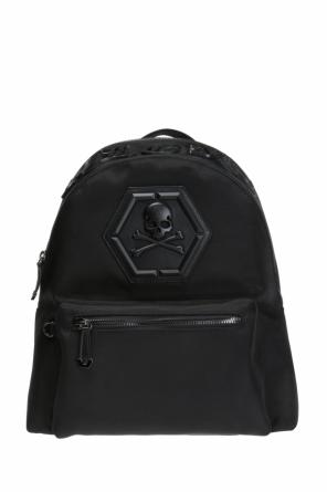 'don't ever give up' backpack od Philipp Plein