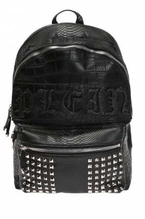 'come on in' backpack od Philipp Plein