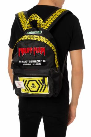 Patched backpack od Philipp Plein
