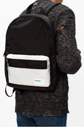 'mirano' logo backpack od Diesel