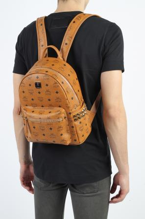 'stark' leather backpack od MCM