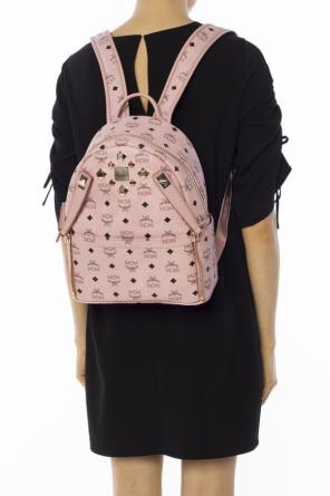 'dual stark' backpack with studs od MCM
