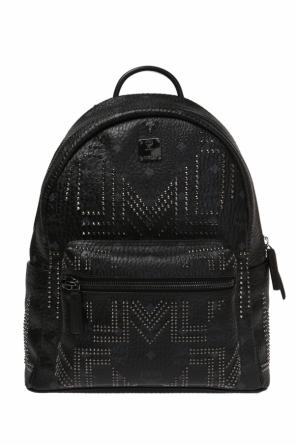 Backpack with decorative elements od MCM