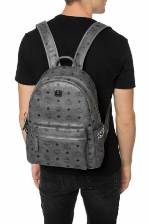 'stark'  patterned backpack od MCM