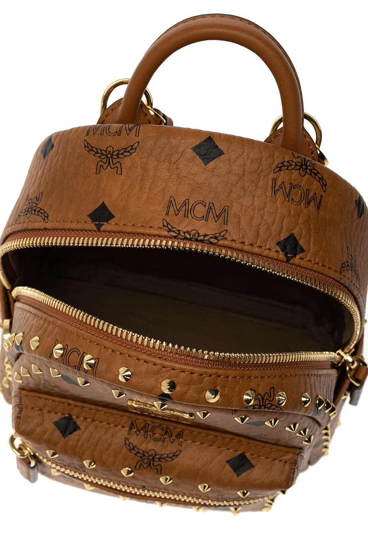 MCM Logo backpack