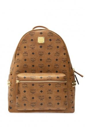 Patterned backpack od MCM