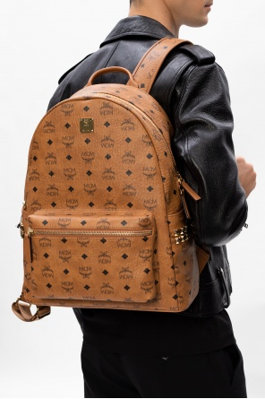 Patterned backpack od MCM