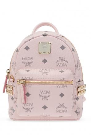 Plecak z logo od MCM