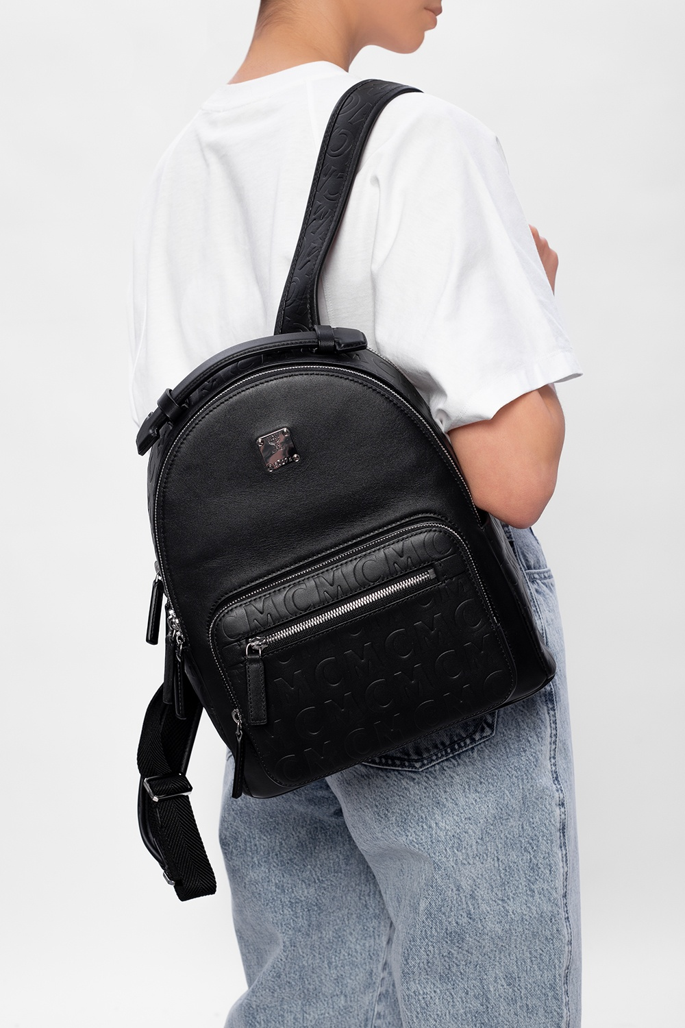 MCM Backpack with logo