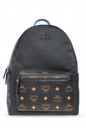 Backpack with logo od MCM