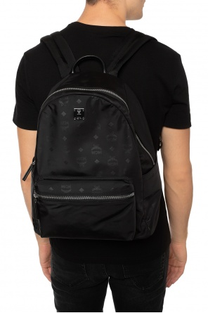 Backpack with a logo application od MCM