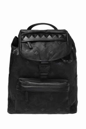 Backpack with a flap od MCM