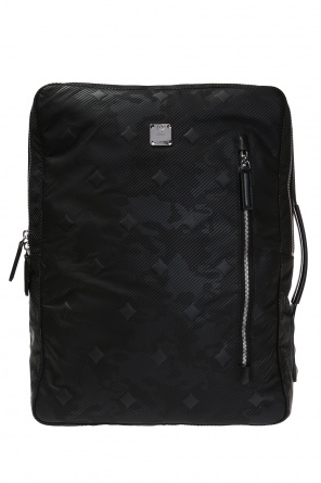 Dieter' patterned backpack od MCM