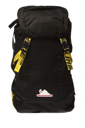 Backpack with logo od Off White