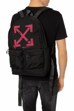 Branded backpack od Off White